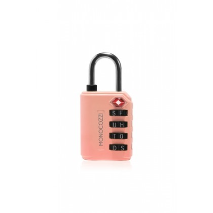 Monocozzi   Bon Voyage   TSA Letter Luggage Lock