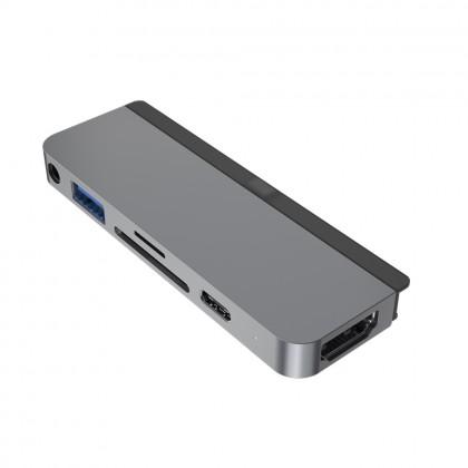 Hyper HD319B HyperDrive 6-in-1 USB-C Hub - for iPad Pro 2018