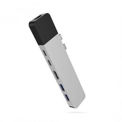 Hyper GN28N HyperDrive NET 6-in-2 USB-C Hub