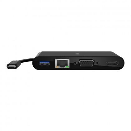 Belkin USB-C Multimedia + Charge Adapter (100W PD)