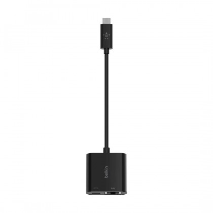 Belkin INC001 USB-C to Ethernet + Charge 60W PD Adapter