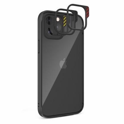 JTLEGEND iPhone 12 Series Hybrid Cushion DX Case - Black